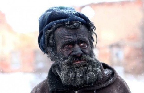 Guy Dubbed Europe's Dirtiest Man Has Been Sleeping in Hot Ash for a Year | Strange days indeed... | Scoop.it