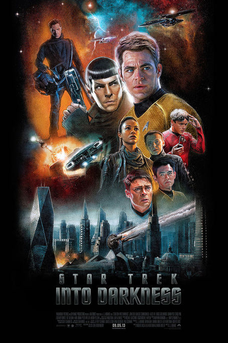 Blurppy – Star Trek Into Darkness Artshow | All Geeks | Scoop.it