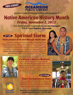 Honoring Native Culture in Oceanside: Local and Sustainable Ethnic Programs in Libraries | AboriginalLinks LiensAutochtones | Scoop.it