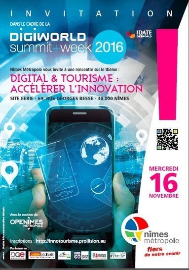 Digital Tourisme - 16 Nov. Ecole des Mines Alès   Marketing de Destination II   Scoop.it