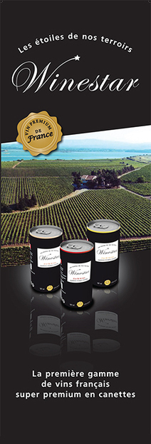 Winestar, le vin français en canette | Du vin en canette? | Scoop.it