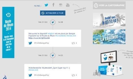 La stratégie digitale de Voile Banque Populaire pour la Route du Rhum | Innovation dans la banque | Scoop.it