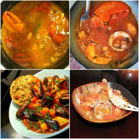 Brodetto (Fish Stew) Ancona-Style with fish available in the southern United States. | Le Marche and Food | Scoop.it