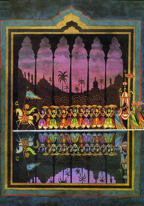 Visions of the Jinn: A Visual History of Arabian Nights | Hunted & Gathered | Scoop.it