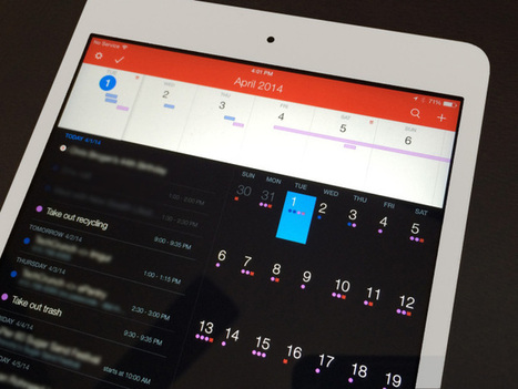 Fantastical 2, The Best iPhone Calendar App, Is Now Available On iPad - TechCrunch | EdTech | Scoop.it