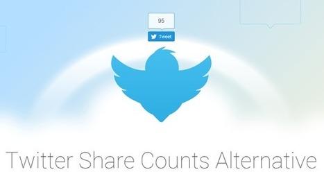 Comment retrouver son compteur de Tweets sur le bouton Twitter   Veille : Community management SMO   Scoop.it