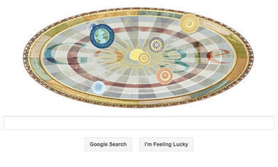 Nicolaus Copernicus celebrated in Google doodle | Slash's Science & Technology Scoop | Scoop.it