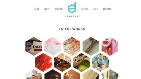Vulcano Creative WordPress Theme | Free & Premium WordPress Themes | Scoop.it