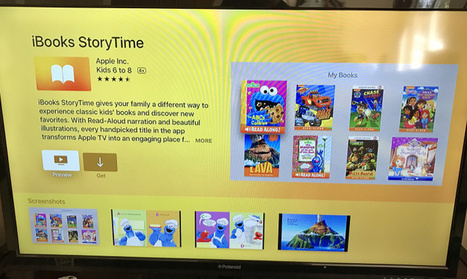 Apple's iBooks StoryTime app for Apple TV will read to yourkids   idevices for special needs   Scoop.it