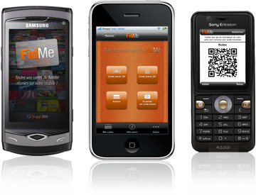 FidMe, toutes vos cartes de fidélité réunies sur votre téléphone ! | Application Android | Scoop.it