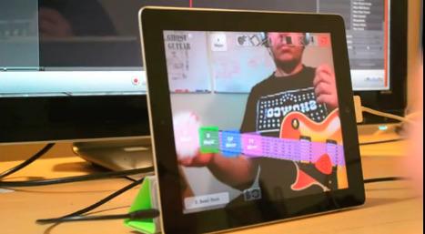 Une application pour jouer de la guitare en réalité augmentée !   I@LEWEB   Scoop.it