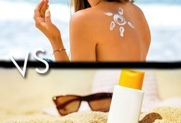 Crème solaire vs écran total : quelles différences? | E-santé et médicaments en ligne | Scoop.it