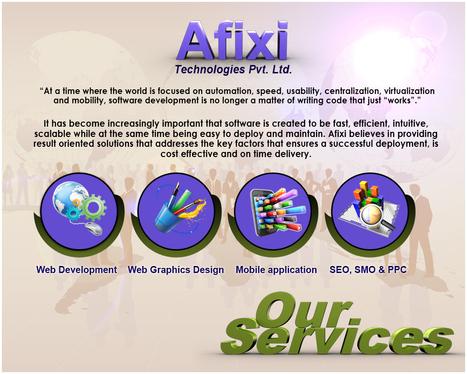 Service Provided By Afixi Technologies | Web Development | Scoop.it