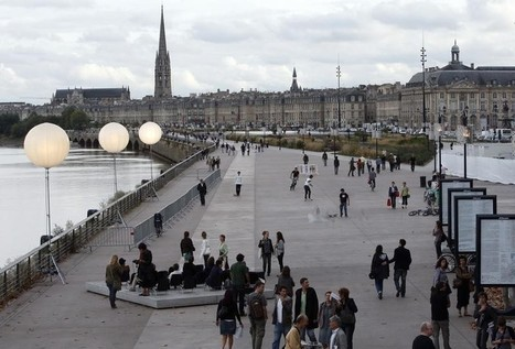 Bordeaux : plus belle, plus... intelligente ! | Transformation numérique  et la ville intelligente | Scoop.it
