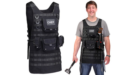 A Tactical Apron For Chefs Who Take Their BBQ Very Seriously | Whatever | Scoop.it