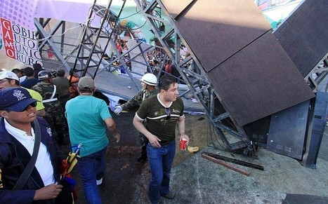 Footbridge collapses at Bolivian parade killing at least four people  - Telegraph   North America, South America, Asia   Scoop.it