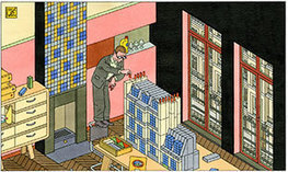 Joost Swarte: Urban and Urbane| Society of Illustrators | The Nomad | Scoop.it