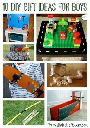 10 DIY Christmas Gift Ideas for Boys | Premeditated Leftovers | Parent Autrement à Tahiti | Scoop.it