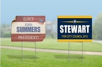 Using Political signs in effective manner | Business | Scoop.it