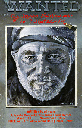 Willie Nelson: Wanted by 20000 hairdressers in 7 states | www ... | Texas Music | Scoop.it