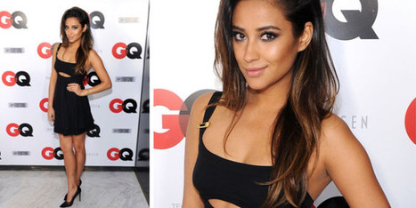 Shay Mitchell in Versus for the GQ Super Bowl Party | fashion and runway - sfilate e moda | Scoop.it