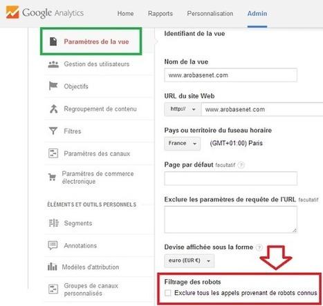 Google Analytics permet de filtrer et exclure les visites des robots | Référencement et visibilité sur Internet | Scoop.it