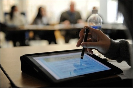 PCs Are Being Replaced With iPads In Schools, With Students | Educational Apps - iPads and Learning | Scoop.it