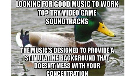 The Best Music to Work or Study To Could Be Video Game Soundtracks | Tyler Pulford Sound in video games | Scoop.it