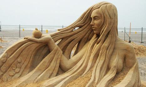 70 sculptures somptueuses qui élèvent les châteaux de sable au rang d'oeuvres d'art | ART's news | Scoop.it