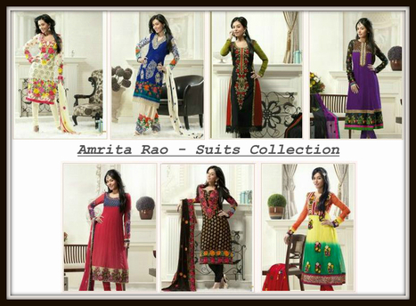 Amrita Rao - Suits Collection 2012 | Facebook | I don't do fashion, I am fashion | Scoop.it