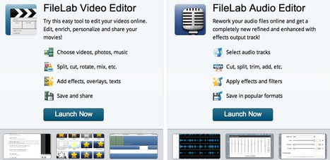 FileLab Web Applications - edit your multimedia files online for free! | Technology Ideas | Scoop.it