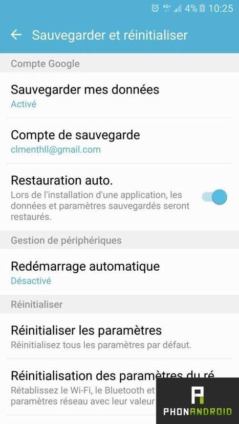 Comment sauvegarder et restaurer vos paramètres Android | Trucs et bitonios hors sujet...ou presque | Scoop.it