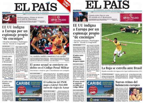 Campeonas y derrotados compiten por la portada | Genera Igualdad | Scoop.it