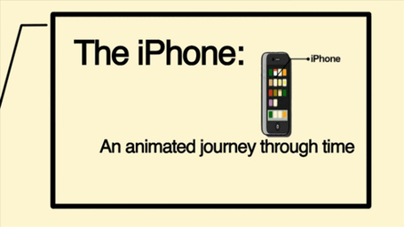 "The Animated History Of The iPhone [Video… Dedicated to Memory of Steve Jobs | ""#Google+, +1, Facebook, Twitter, Scoop, Foursquare, Empire Avenue, Klout and more"" 