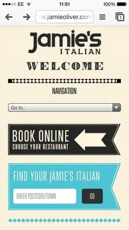 How the UK's favourite restaurants are performing on mobile | Web Design | Scoop.it