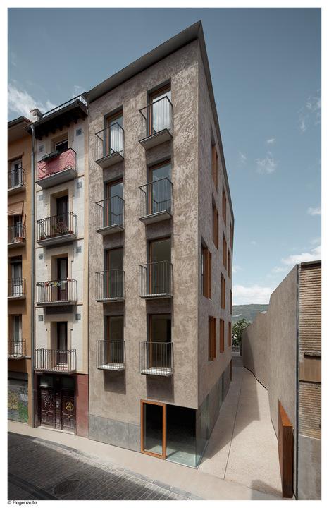 Edificio de viviendas en la calle Descalzos, Pamplona.   +Arquitectura   Scoop.it