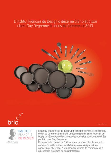 Retail Design : Brio et Guy Degrenne lauréats du Janus 2013 | Retail Design Review | Scoop.it