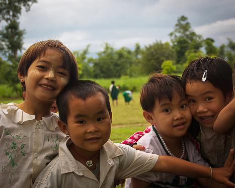 Smiling Kids in Burma   The Blog's Revue by OlivierSC   Scoop.it