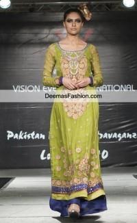 Latest Pakistani Fashion Bridal Wear Formal Dresses Casual Clothes 2011   one-piece dress   Scoop.it