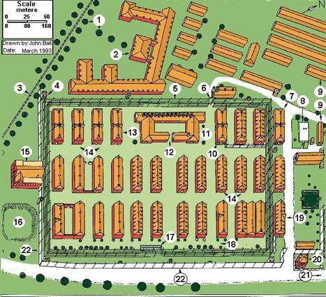 Auschwitz Camp Map (Aerial  View)   Sarah's Key  Holocaust   Scoop.it