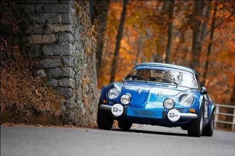 Alpine A110, un amour de berlinette française | AutoCollec Voitures et automobiles de Collection | Scoop.it