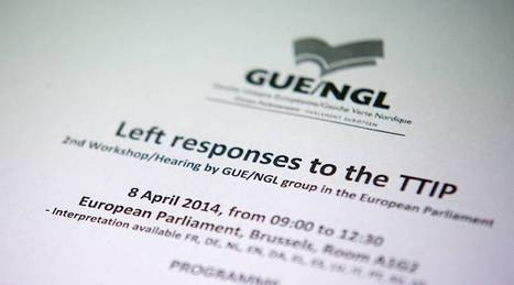 TTIP myths shattered by new GUE/NGL-backed report - GUE/NGL - Another Europe is possible | ALE: Grand Marché Transatlantique | Scoop.it