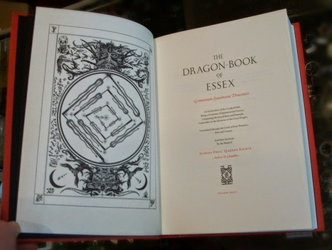 Edge of the Circle Books Newsletter: IT'S HERE: THE DRAGON BOOK OF ESSEX   Dragon Book of Essex   Scoop.it