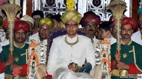 India's Mysore crowns new maharaja Yaduveer Wadiyar - BBC News | enjoy yourself | Scoop.it