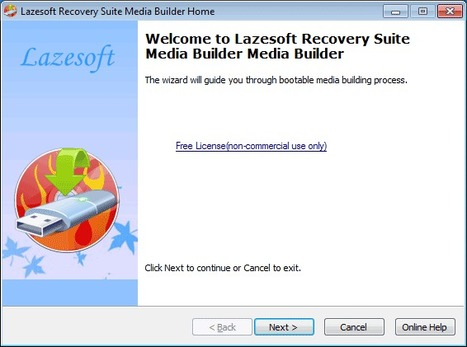 Lazesoft Recovery Suite, an instant data and system recovery kit | Le Top des Applications Web et Logiciels Gratuits | Scoop.it
