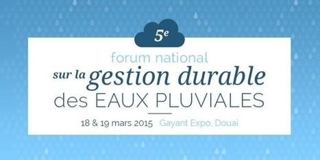Forum National sur la gestion durable des eaux pluviales | Cinzia Zugolaro - sferalab | Scoop.it