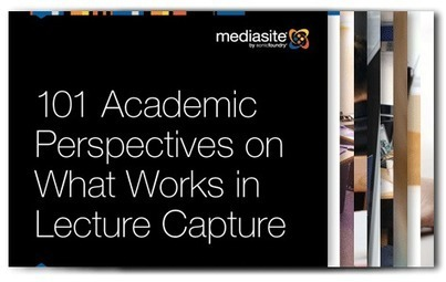101 Academic Perspectives on What Works in Lecture Capture | REC:all | Scoop.it