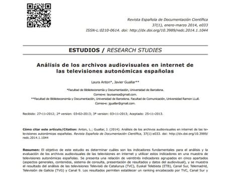 Artículos publicados en 2014 sobre documentación en medios | Documentación en medios de comunicación | Scoop.it