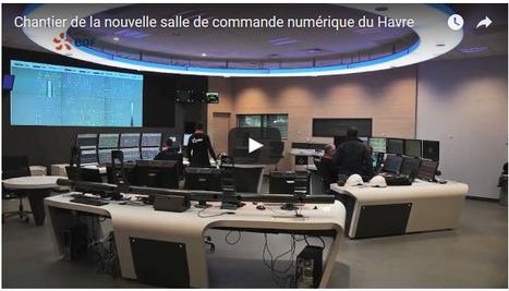 Vidéo du chantier de la salle de commande numérique de la centrale du Havre | Centrale thermique EDF du Havre | Scoop.it