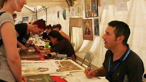 Brucéro, un peintre illustrateur inspiré par Comper   Archives (2014)   Scoop.it
